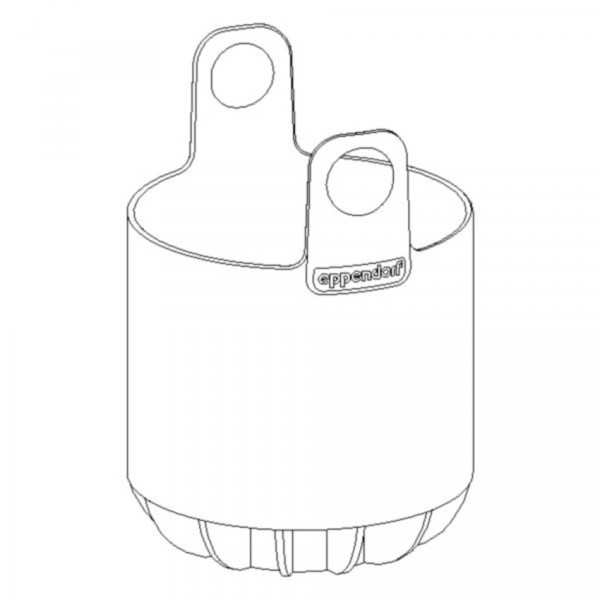 Eppendorf Adapter for 500 mL conical bottle, for rotor S-4- 104, S-4x750, S-4x1000, set of 2