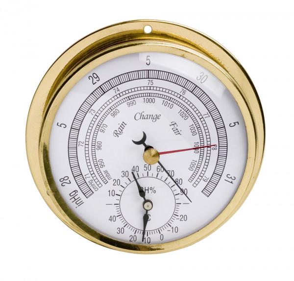 SP Bel-Art, H-B DURAC Thermometer-Hygrometer- Barometer; -20/120F, 0/100 Percent Humidity Range