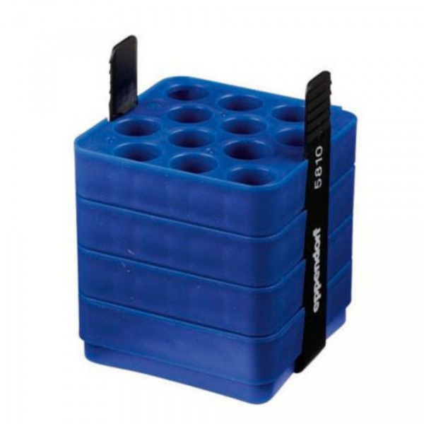 Eppendorf Adapter für Rechteckbecher 500 mL zum Einsetzen von 12x 15ml konische Gefäße, 2 Stück