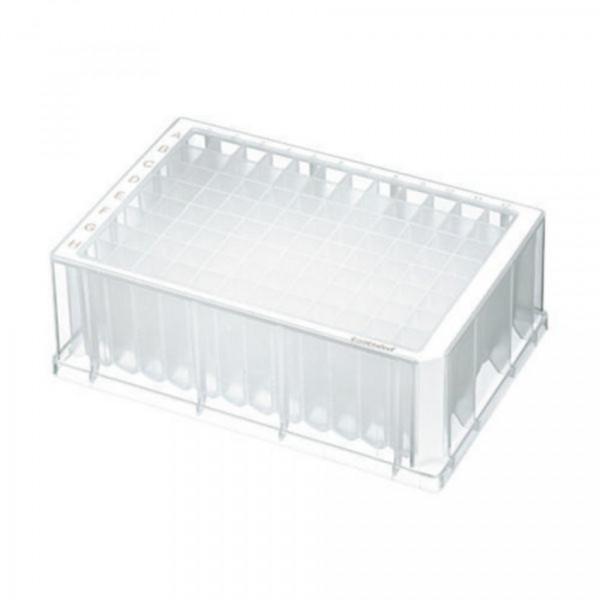 Eppendorf Deepwell Plate 96/2.000 µL, Protein LoBind, 2.000 µL, PCR clean, weiß, 20Platten