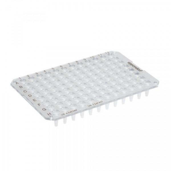 Eppendorf twin.tec PCR Plate 96, un- skirted, low profile, clear, 20 pcs.