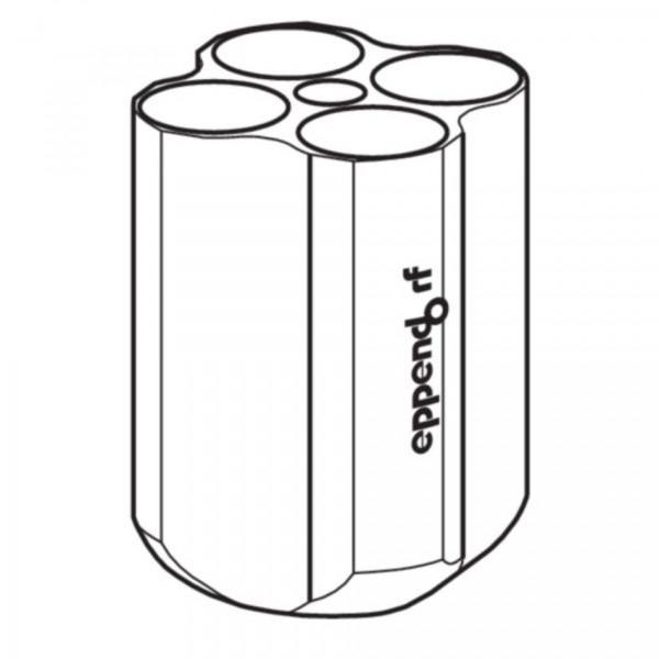 Eppendorf Adapter, für 4 konische Gefäße 50 mL, für Rotor S-4-72, 2 Stück