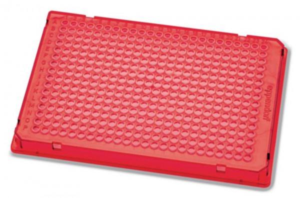 Eppendorf twin.tec® PCR Plate 384, 40 µL, PCR clean, rot, 300 Platten