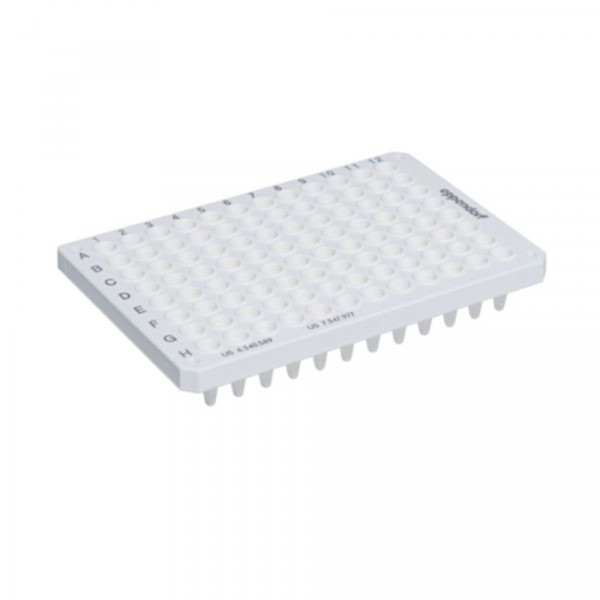 Eppendorf twin.tec real-time PCR Plate 96, semi-skirted (Wells white) White, 25 pcs.