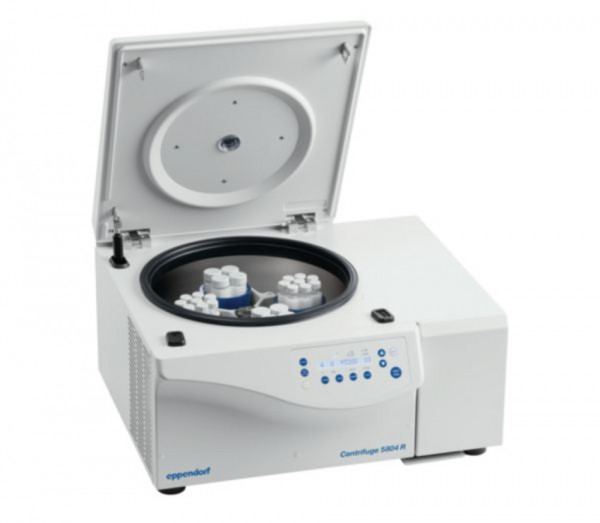 Eppendorf Centrifuge 5804R, 230V/50-60Hz incl. rotor A-4-44 and 15/50ml adapters