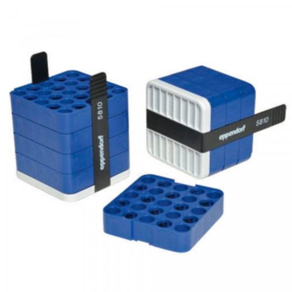 Eppendorf Adapter, für 25 Rundbodengefäße 2,6 – 5 mL, 2 Stück