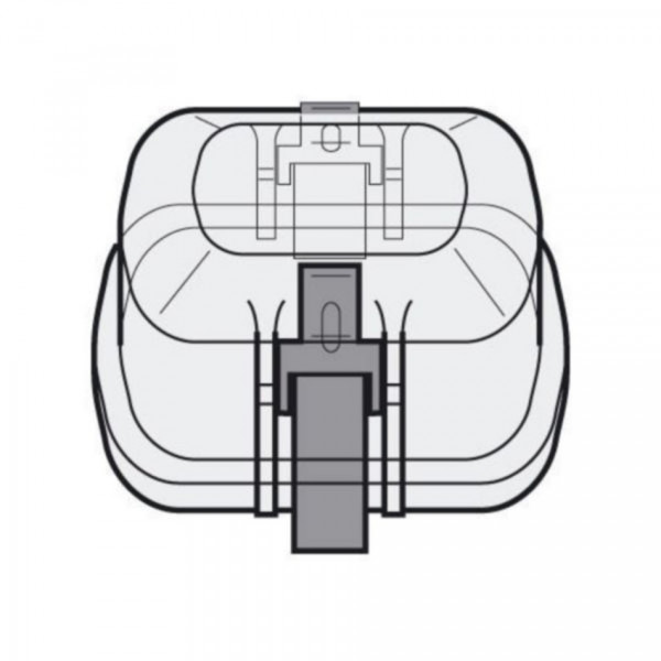 Eppendorf Kappen, aerosoldicht, für Rechteckbecher 250 mL, 2 Stück