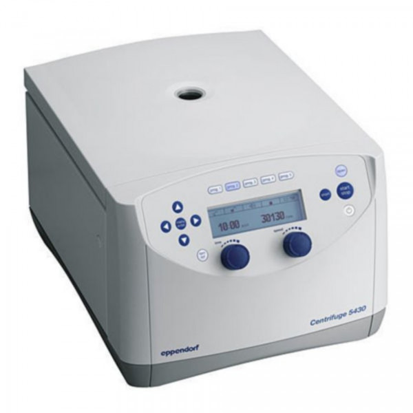 Eppendorf Centrifuge 5430, with knobs, 230V/50-60Hz, without rotor