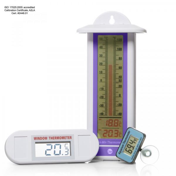 SP Bel-Art, H-B DURAC Probeless Electronic Aquarium Thermometer; 32/120F
