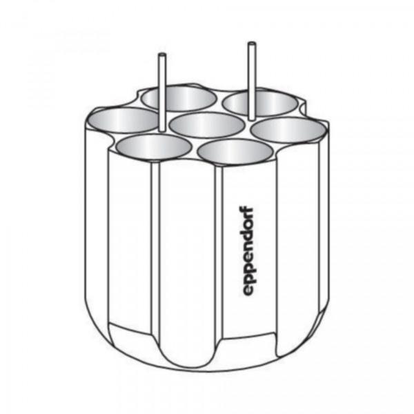 Eppendorf Adapter, für 7 konische Gefäße 50 mL, 2 Stück
