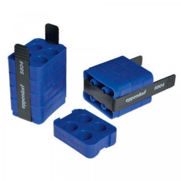 Eppendorf Adapter, für 4 Eppendorf Tubes® 5.0 mL und konische 15-mL-Gefäße, 2 Stück