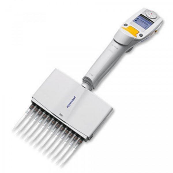 Eppendorf Xplorer®, 12-Kanal, variabel, 15 – 300 µL, orange