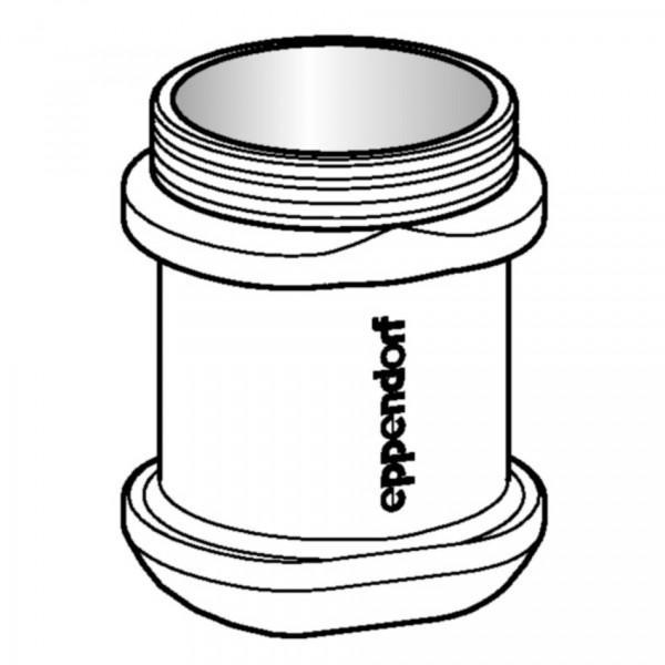 Eppendorf Adapter, für 1 Flasche 250 mL flach/175 mL Falcon® (Bitte beachten Sie, dass die