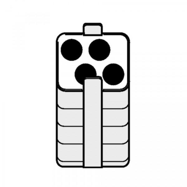 Eppendorf Adapter für Rechteckbecher 250ml zum Einsetzen von 4x 18-30ml Gefäßen, 2 Stück