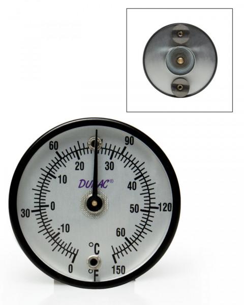 SP Bel-Art, H-B DURAC Bi-Metallic Surface Temperature Thermometer; -18/65C (0/150F), 50mm (2 in.) Di