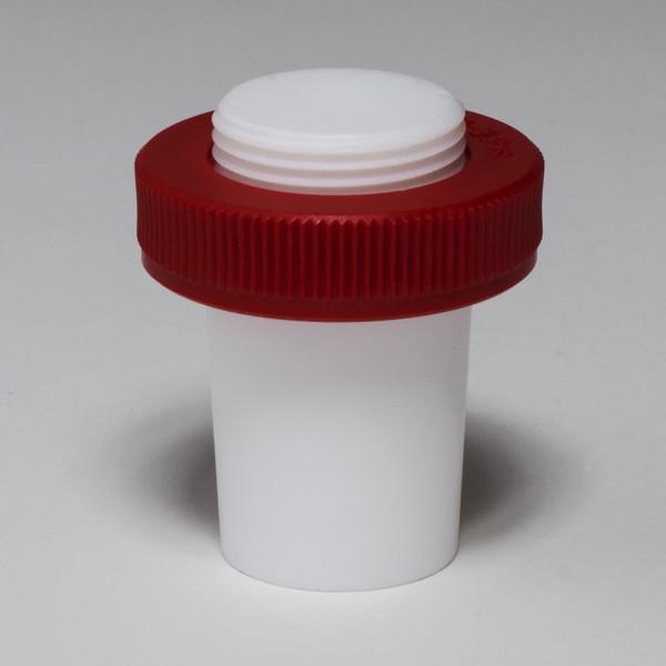 SP Bel-Art Safe-Lab Hollow Teflon PTFE Stopper for 34/45 Tapered Joints
