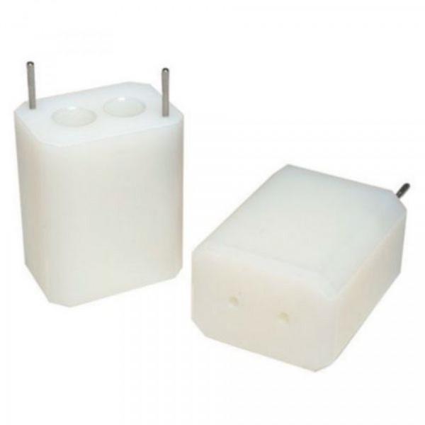 Eppendorf Adapter, für 2 konische Gefäße 15 mL konisch, 2 Stück