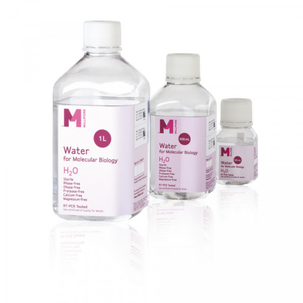 Merck Millipore WATER FOR MOLECULAR BIOLOGY 24 X 125 ML