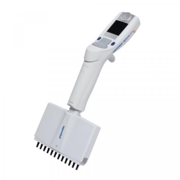 Eppendorf Xplorer, 12-channel, 0,5-10µl, multifunction rocker switch medium gray for pipette tips 20µl