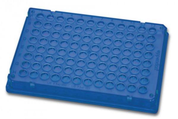 Eppendorf twin.tec® PCR Plate 384, 40 µL, PCR clean, blau, 300 Platten