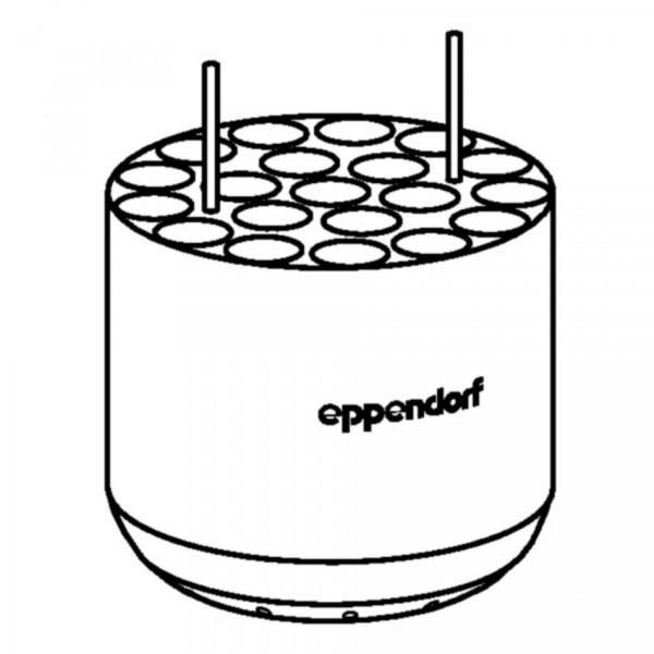 Eppendorf Adapter, für 20 Rundbodengefäße 9 mL, 2 Stück