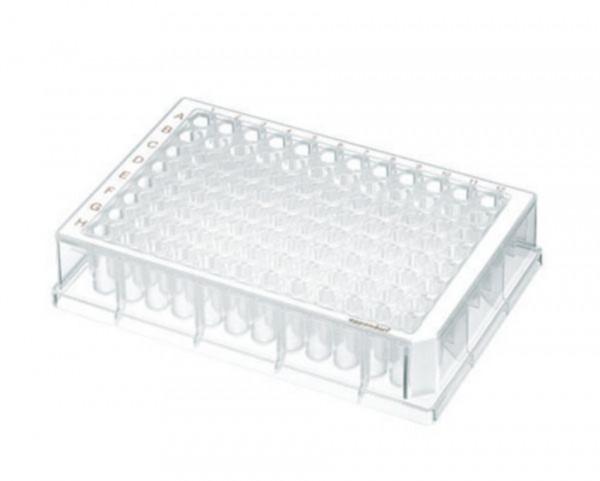 Eppendorf Deepwell Plate 96/500 µL, Wells klar, 500 µL, PCR clean, weiß, 120Platten