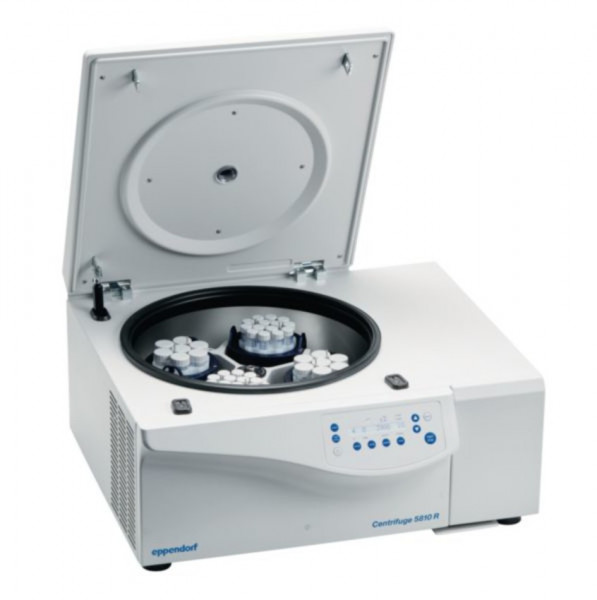 Eppendorf Centrifuge 5810R, 230V/50-60Hz incl. rotor A-4-81 and 15/50ml adapters