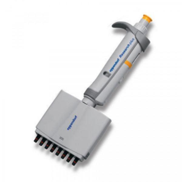 Eppendorf Research® plus (EU-IVD), 8-Kanal, variabel, 30 – 300 µL, orange