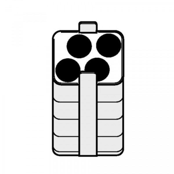 Eppendorf Adapter für Rechteckbecher 250ml zum Einsetzen von 4x 30-50ml Gefäßen, 2 Stück