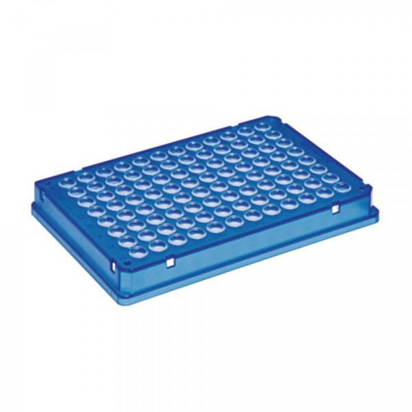 Eppendorf twin.tec microbiology PCR Plate 96, skirted, blue, 10 pcs.