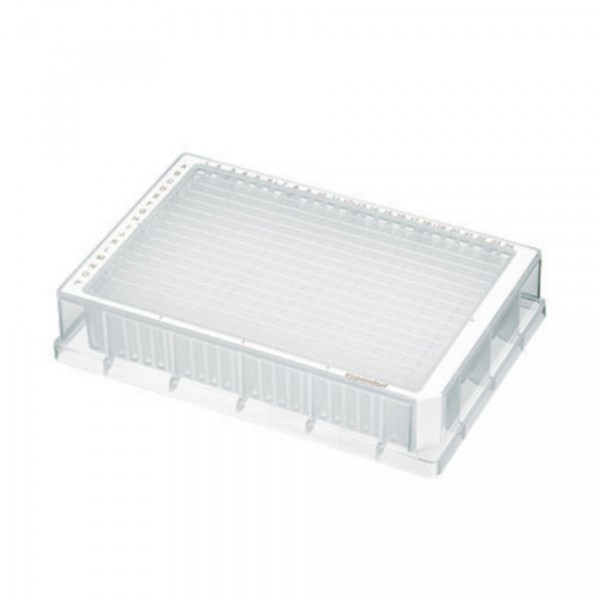 Eppendorf Deepwell plate 384/200µl, Large package, DNA LoBind, White, 120 plates (10 bags of 12)