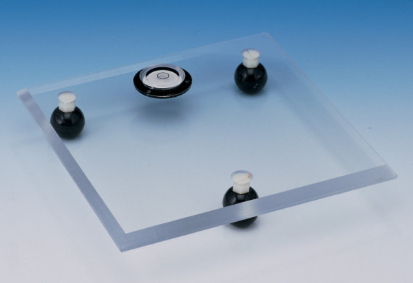 SP Bel-Art Acrylic Leveling Table; 8 x 8 x ⅜ in.