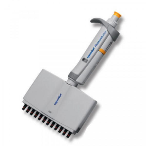 Eppendorf Research® plus (EU-IVD), 12-Kanal, variabel, 30 – 300 µL, orange