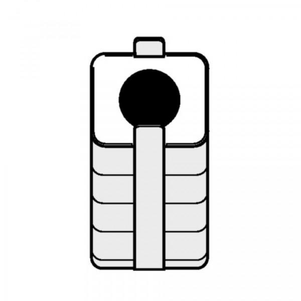 Eppendorf Adapter für Rechteckbecher 250ml zum Einsetzen von 80- 120ml Gefäßen, 2 Stück