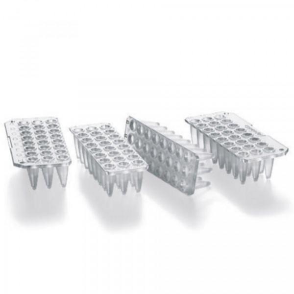 Eppendorf twin.tec PCR Plate 96, unskirted, teilbar, 250 µL, PCR clean, farblos, 20 Platte