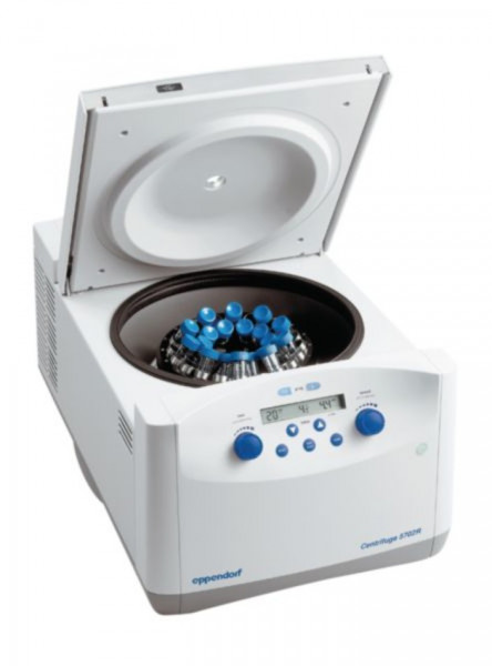 Eppendorf Centrifuge 5702 R, 230 V/50- 60 Hz, incl. rotor A- 4-38 and 15/50 mL adapters