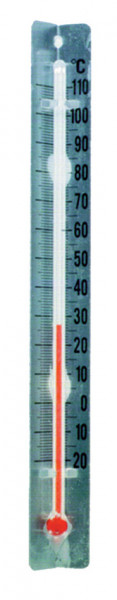 SP Bel-Art, H-B DURAC V-Back Liquid-In-Glass Laboratory Thermometer; -10 to 110C, Organic Liquid Filled (Pack of 100)