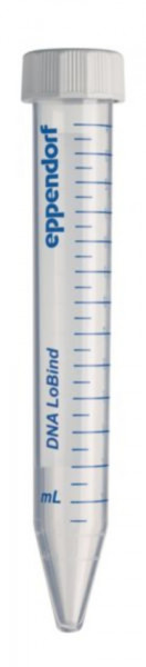 Eppendorf DNA LoBind Tubes, DNA LoBind, 15 mL, PCR clean, farblos, 200Tubes