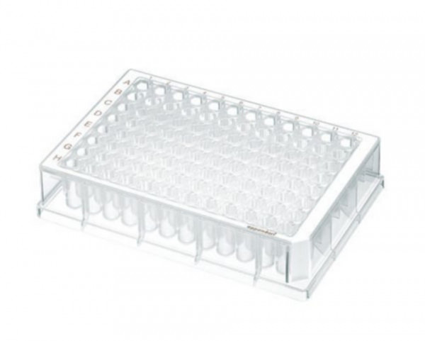 Eppendorf Deepwell plate 96/500µl, Large package, Protein LoBind, White, 120 plates (10 bags of 12)