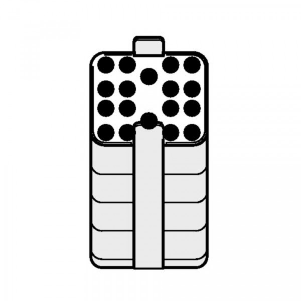 Eppendorf Adapter für Rechteckbecher 500 mL zum Einsetzen von 2,6-7 mL Vacutainern, 2 Stück
