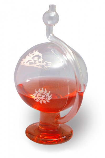 SP Bel-Art, H-B DURAC Glass Weather Ball Barometer; 152mm Diameter