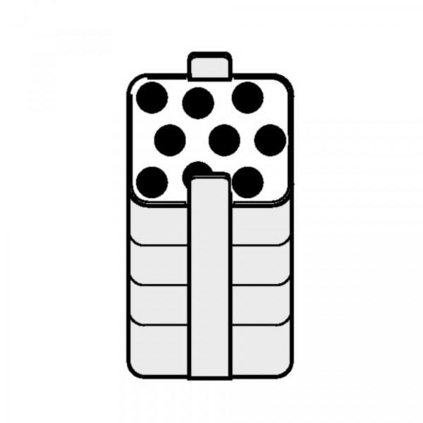 Eppendorf Adapter, für 9 Eppendorf Tubes® 5.0 mL und konische 15-mL-Gefäße, 2 Stück