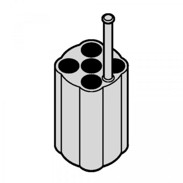 Eppendorf Adapter, für 5 Rundbodengefäße 1 – 1,4 mL, 2 Stück