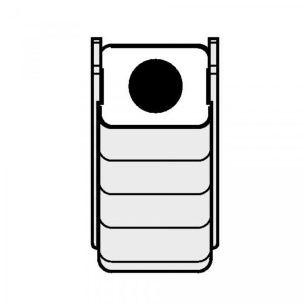 Eppendorf Adapter für Rechteckbecher 100ml zum Einsetzen von 50ml Falcon-Gefäßen, 2 Stück