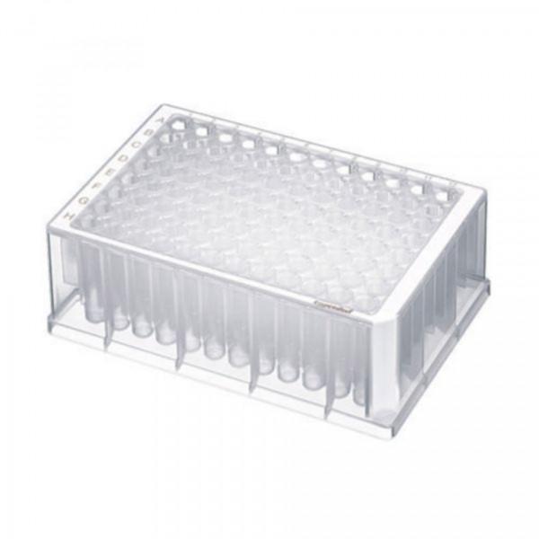 Eppendorf Deepwell Plate 96/1000 µL, Wells klar, 1.000 µL, PCR clean, weiß, 80Platten