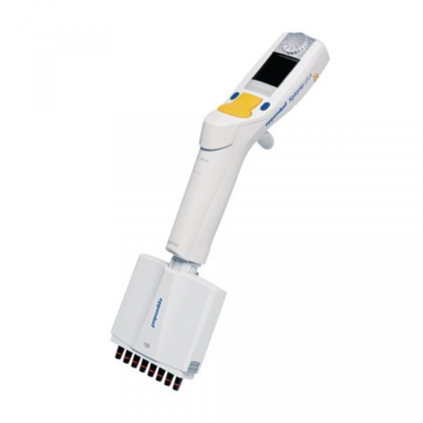 Eppendorf Xplorer® plus, 8-Kanal, variabel, 5 – 100 µL, gelb