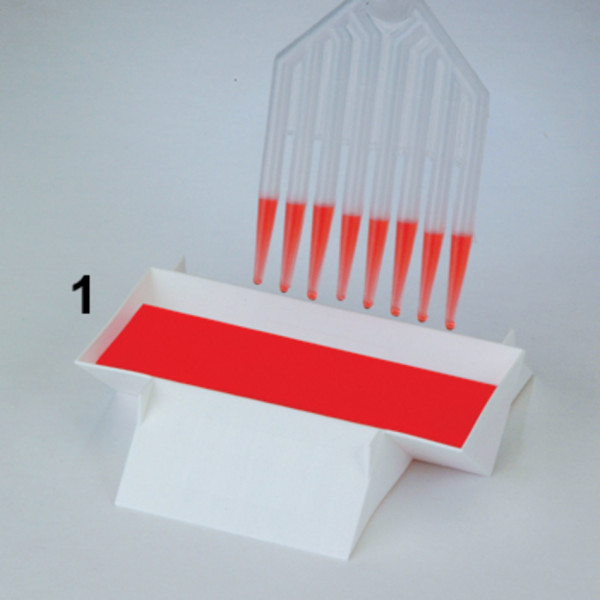 """SP Bel-Art Polypropylene """"Three-In-One"""" Multi-Channel Pipette Reservoirs (Pack of 10)"""