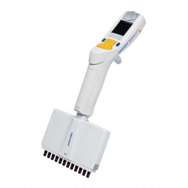 Eppendorf Xplorer® plus, 12-Kanal, variabel, 15 – 300 µL, orange