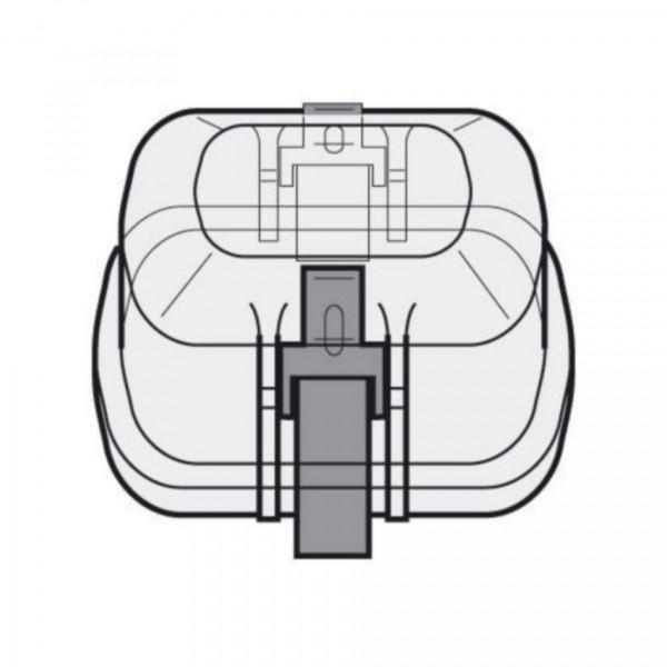 Eppendorf Kappe aerosoldicht für Rechteckbecher 250 ml, 2 Stück