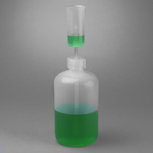 SP Bel-Art Measure-Matic Polypropylene Dispenser; Measures 5 to 25ml